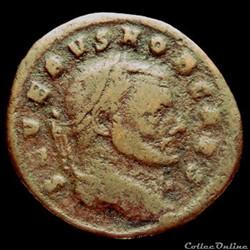 Follis de Sévère II césar pour Rome