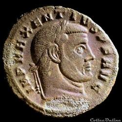 Follis de Maxence pour Carthage