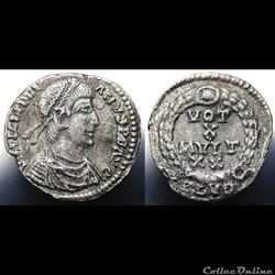 Julian II Siliqua RIC 234var