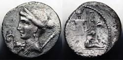Crawford 468/2 CAESAR (C.Iulius Caesar),...