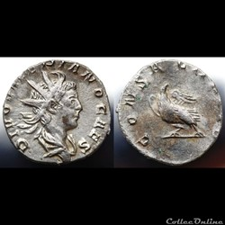 Valerianus II Antoninian RIC 27, Göbl 91...
