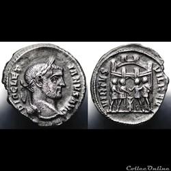 Diocletian Argenteus RIC 27a