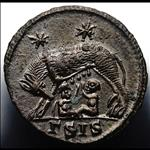 Late Roman bronze coins starting with Diocletian