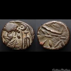 Elymais, Kamnaskires VIII., 1.C BC. AE-Drachm, Seleukeia at Hedyphon