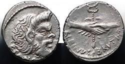 Crawford 451/1 ALBINVS BRVTI.F, C.PANSA ...