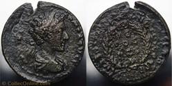 Commodus AE 22, CILICIA, Anazarbus