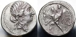 Crawford 458/1 CAESAR (C. Iulius Caeasar...