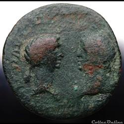 munzen antike vor j bi nach romische provinzial nero octavia crete knossos