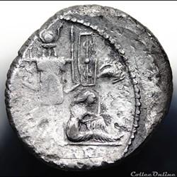 munzen antike romische crawford 468 2 caesar c iulius caesar denar