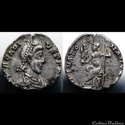 Arcadius Siliqua RIC 32b
