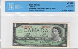 1 dollar 1967  BC-45bA-i