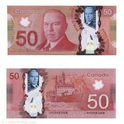 billet de 50 dollars 2012