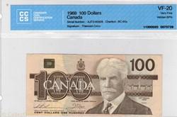 100 dollars 1988