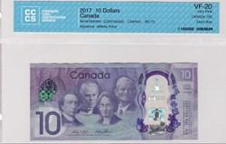 billet de 10 dollars2017 BC75