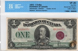 billet de 1dollar1923