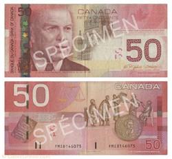 billet 50 dollars 2004