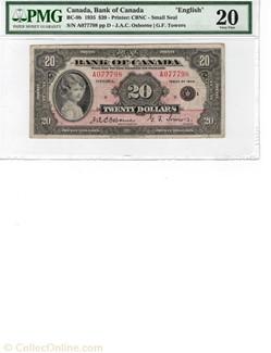 20  1935 de la Banque of Canada