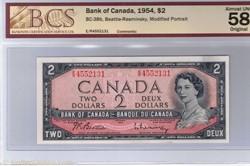 billet de 2 dollars 1954 BC-38b