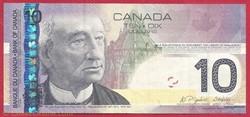 billet de 10 dollars 2008