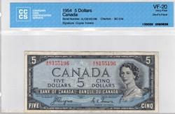 5 dollars 1954 BC-31a