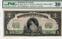 billet de 1dollar1917