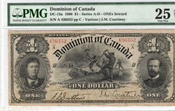 billets de 1 dollars du Dominion