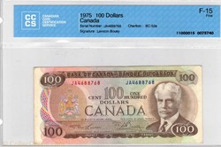 100 dollars 1975