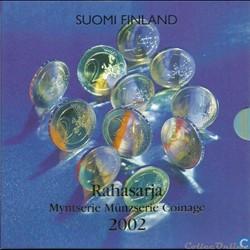 Finlande - Série officielle BU - 2002