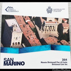 Saint-Marin - Série officielle BU - 2014...