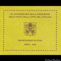 Vatican - Série officielle BU - 2009