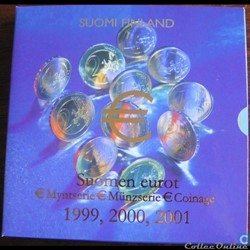 Finlande - Série officielle BU - 1999 20...