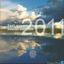 Estonie - Série officielle BU - 2011