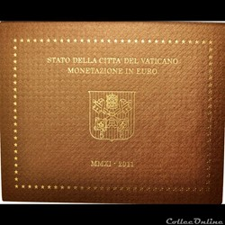 Vatican - Série officielle BU - 2011