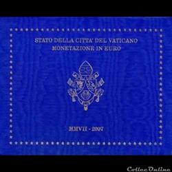 Vatican - Série officielle BU - 2007