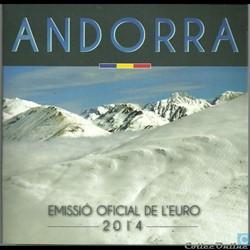 Andorre - Série officielle BU - 2014