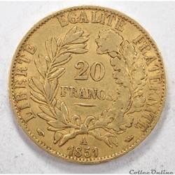 20francsCeres 1851