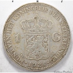 1	Gulden	Juliana	1924