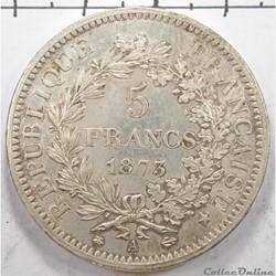 5FrancsHercule 1873