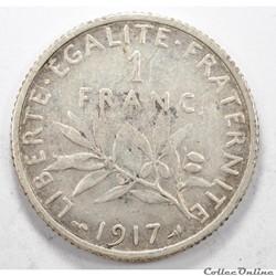 1FrancSemeuse1917