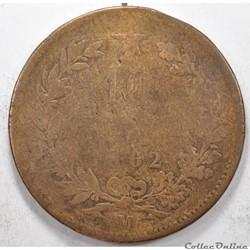 10 centesimiVittorio Emanuele II 1862