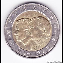 Pièce de 2 euro. Union économique belgo-luxembourgeoise