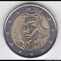Pièce 2 euros. 225e anniversaire de la Fête de la Fédération