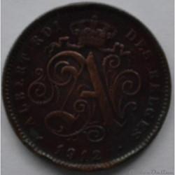 2 centimes 1912