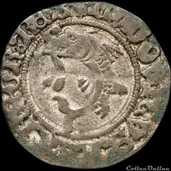 Louis XI (1461-1483) - Liard au dauphin ...