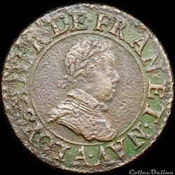 CGKL 386 - Louis XIII - Double tournois 1615 A Paris