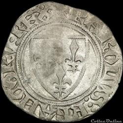 Charles VI (1380-1422) - Blanc