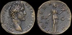 Antonin - IMPERATOR II / SC - Sesterce