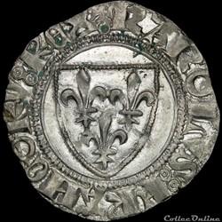 Charles VI (1380-1422) - Blanc - Paris