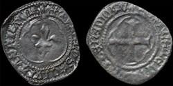 Charles VII (1422-1461) - Obole tournois...
