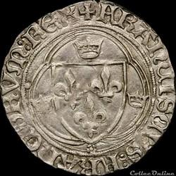 François Ier (1515-1547) - Grand blanc -...